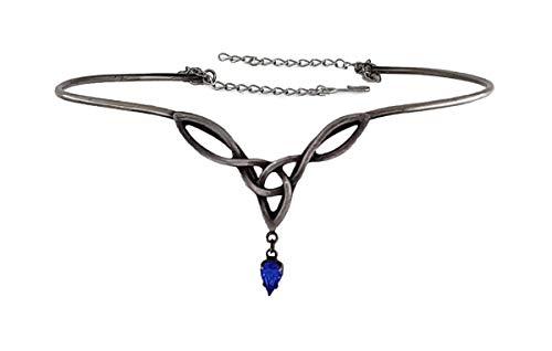 LH. Dark Dreams Diadem Faylinn, Farbe:blau