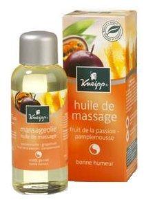 Kneipp Huile de Massage Passion et Pamplemousse 100 ml