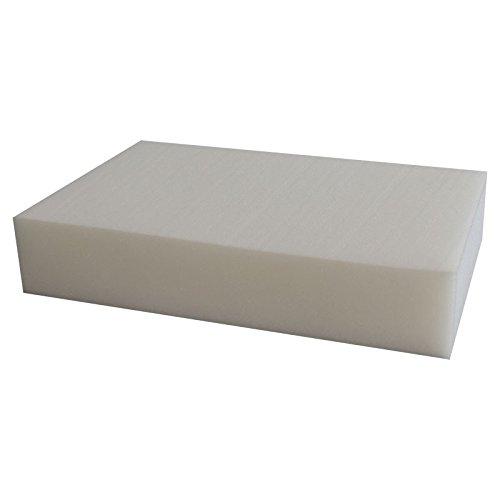 Ventadecolchones Pieza de Espuma a Medida 60 x 120 x 10 cm - Densidad 20 kg/m3 Media, para Otras Medidas consúltenos