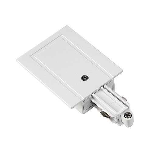 Slv - Alimentador carril empotrar 1 fase izquierda/o blanco