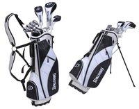 Spalding Hommes SP99 1 Inch Plus Set de Golf Club - (Argent, Droite, Graphite)