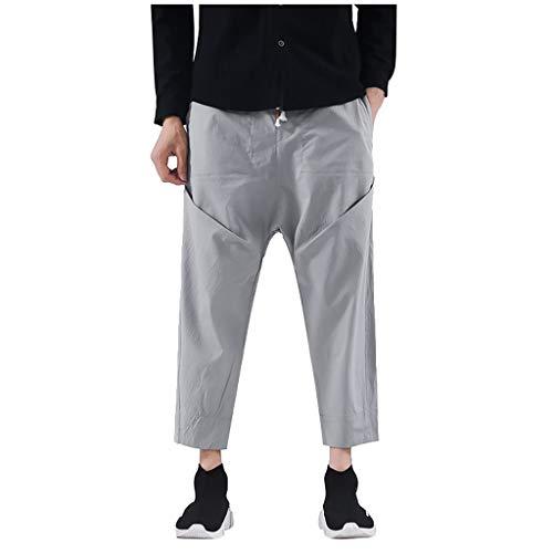 ZODOF Pantalones Hombre - Pantalones Deportivos Delgados