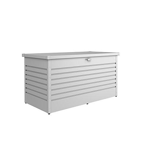 Biohort Freizeitbox Metallbox silber-metallic 160 x 79 x 83 cm (Größe 160 HIGH)