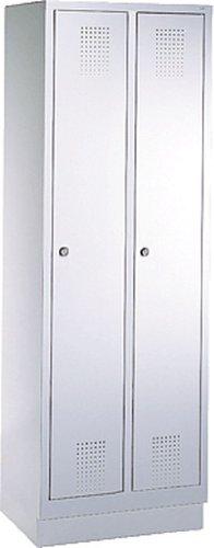 EVOLO Garderobenschrank48020-20-7035 H180xB61xT50 cm lichtgrau
