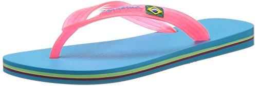 Ipanema Classica Brasil II FF, Damen Zehentrenner Blau (23492 Blau/Pink)