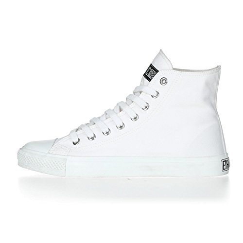 Ethletic Sneaker HiCut Collection 17 aus Bio-Baumwolle – just white / weiß – nachhaltig & fairer High-Sneaker - 3