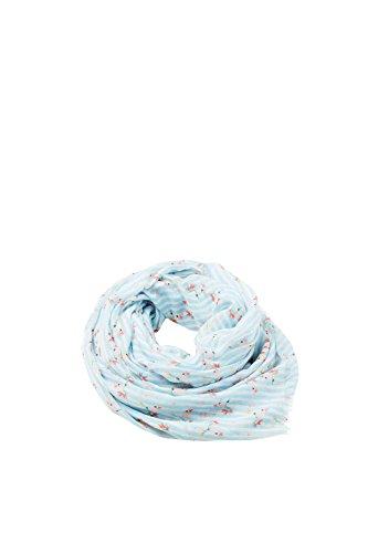 ESPRIT edc by Accessoires Damen 058CA1Q004 Schal, Blau (Light Blue 440), One Size (Herstellergröße: 1SIZE) Light Blue Schal