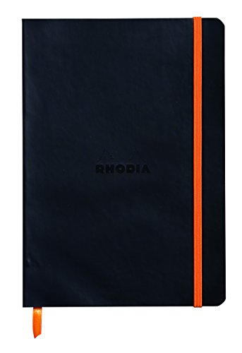 DotPad Block Rhodia Dot Grid Orange 80 Blatt DIN A4+ 21x31,8cm