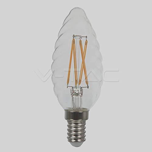 Unbekannt LED Clear Filament E14 4Watt Twist Candle
