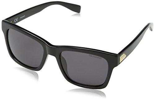 Dermactin-TS Damen Str016 Sonnenbrille, Grau (SHINY BLACK), Einheitsgröße
