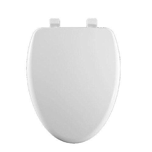 U V O Toilettendeckel Thicken Toilettenschüsseldeckel Slow Down Toilettensitz,White-485-490 * 367mm -