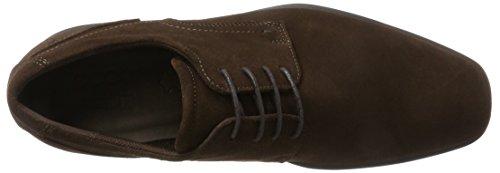 Ecco Cairo, Chaussures À Lacets Derby Man Brown (café)