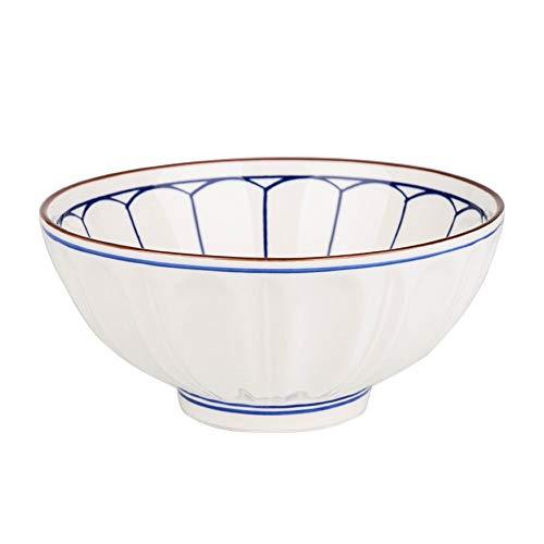 RKY Bol- Bol de riz japonais à la maison manger bol en céramique bol de nouilles instantanées plat simple -6 sortes de taille en option /-/ (taille : 11.5 * 5.2cm)
