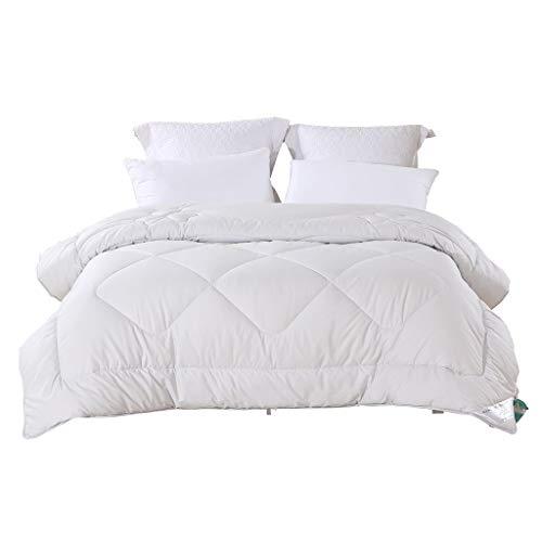 CXD White Down Alternative Gesteppte Tröster Bettwäsche Ganzjahres Plüsch Mikrofaser Füllen Bettbezug oder Stand-Alone Tröster (größe : 220 * 240) (Down-alternative Tröster Bettwäsche)