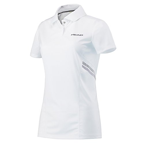 Head Club Technical de la mujer camiseta, mujer, color blanco y azul m