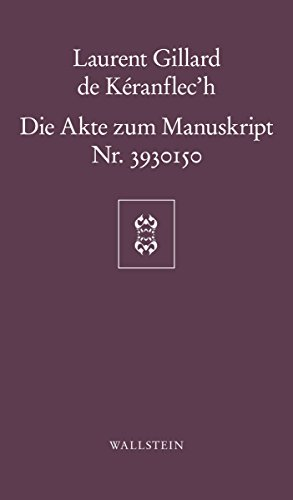 Die Akte zum Manuskript Nr. 3930150 (Göttinger Sudelblätter)