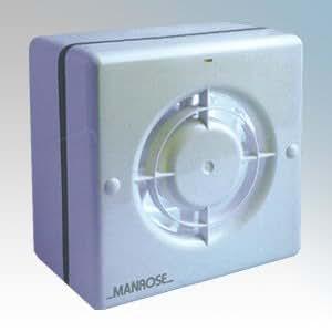 Manrose wf100h 100mm/10,2cm 230V WF100série fenêtre Ventilateur axial avec minuteur