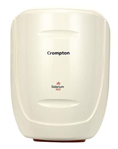 Crompton Greaves SWH10 1610 Solarium Neo 10-Litre Storage Water Heater (Ivory)