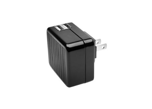 Kensington Absolute Power Dual USB Wall Adapter mit Kabel und Steckdosen Ladegerät USB 2.0 -