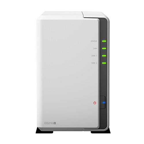 SYNOLOGY DiskStation DS216j 4TB NAS-Server 2-Bay und 2x 2TB HDDs