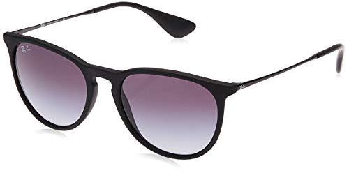 RAYBAN Unisex Sonnenbrille Rb4171 Gestell: schwarz, Gläserfarbe: grau verlauf 622/8G), Medium (Herstellergröße: 54)