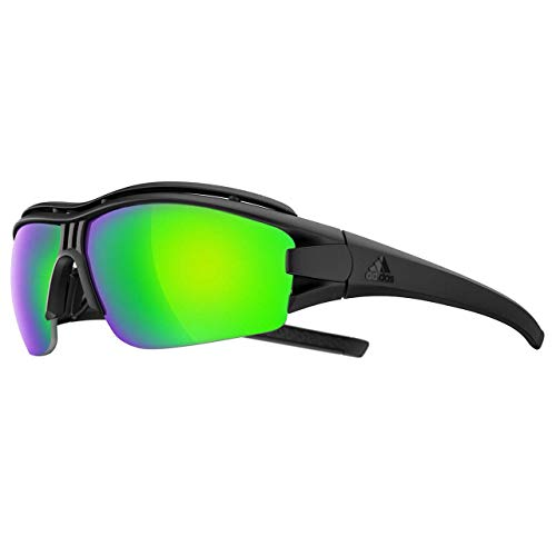 adidas Eyewear Evil Eye Halfrim Pro XS a199 6090 Sonnenbrille Sportbrille Black Shiny