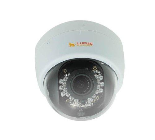 Lupus Electronics LUPUSNET HD LE 966 Full HD Megapixel Netzwerkkamera IP Kamera inklusive deutscher 36 Kanal Software, 10966
