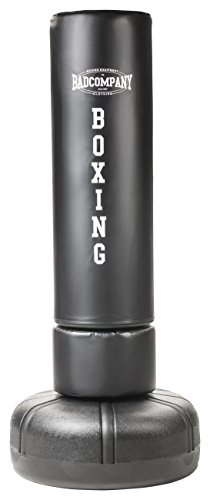 Bad Company Heavy Duty Standboxsack 190 x 40 cm - Freestanding Punching Bag black BCA-72