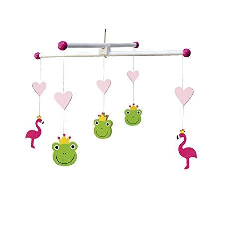 Frosch Schienen (JaBaDaBaDo K8031Mobile Frosch, Pink)