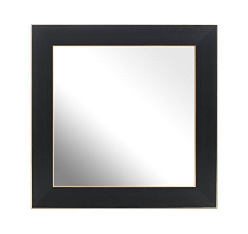 Inov8Spiegel Rahmen Ash Gold Trim 12x 12, 1, schwarz - 12 Schwarz Trim
