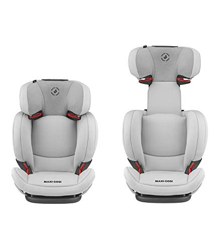 Maxi-Cosi RodiFix AirProtect Child Car Seat, Isofix Booster Seat, Grey, 15-36 kg Maxi-Cosi Booster car seat for children from 15-36 kg (3.5 to 12 years) Grows along with your child thanks to the easy headrest and backrest adjustment from the top Patented air protect technology for extra protection of child's head 6