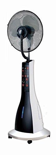Foto de Sogo VEN-SS-21215 - Ventilador de pie con nebulizador, 40cm, 90 W, color negro