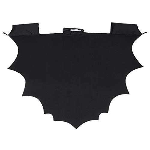 Minzhi Kinder Kinder Fledermaus-Umhang Halloween Karneval Cosplay Partei-Kostüm-Schal