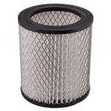 filtro di ricambio per bidone aspiracenere universale HEPA mistral hit PH0315 misure h12,3x10,7 foro interno 7,3 cm