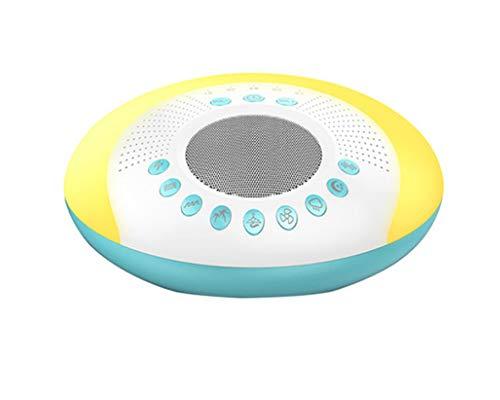 Weißes Rauschen Maschine Als Schlafhilfe mit 9 Naturgeräusche, 5 Timer-Einstellungen, USB Wiederaufladbar Tragbarer Weißes Rauschgerät für Baby/Kinder/Erwachsene (15 4-ohm-lautsprecher)
