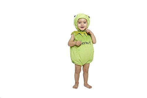 Amscan Disney Baby DCKER-TA-018 - Kostüm - Die Muppet Show - Kermit der Frosch - Spieler mit Kapuze, ()