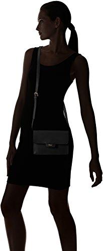 Gabor ALEXIS 7459 Damen Schultertaschen 21x13x7 cm (B x H x T) Schwarz (schwarz Handtasche)