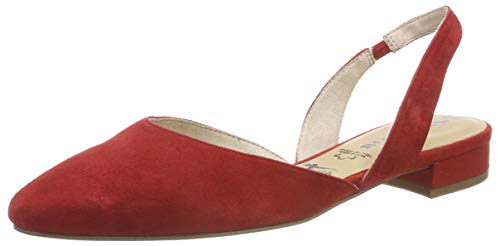 Tamaris Damen 1-1-29401-22 Slingback Pumps, Rot (Chili 533), 39 EU Sling Pumps Schuhe