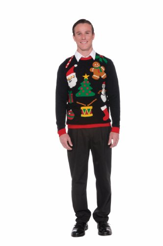 istmas Sweater Large (Ugly Christmas Sweater Party Supplies)