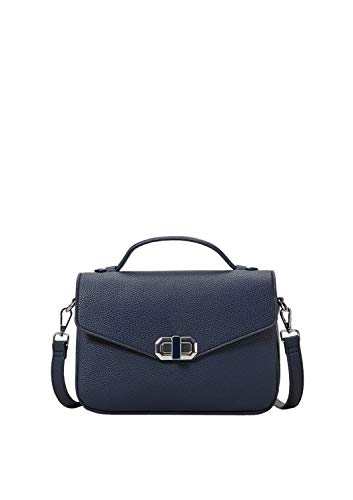 s.Oliver RED LABEL Damen City Bag mit Metallschließe blue 1 -