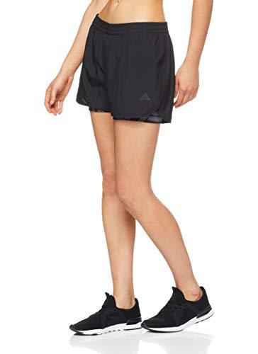 adidas Damen D2M Short 1/4, Black, L