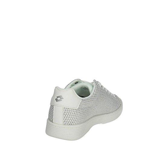 Lotto T4020 Sneakers Bassa Donna Bianco/Argento