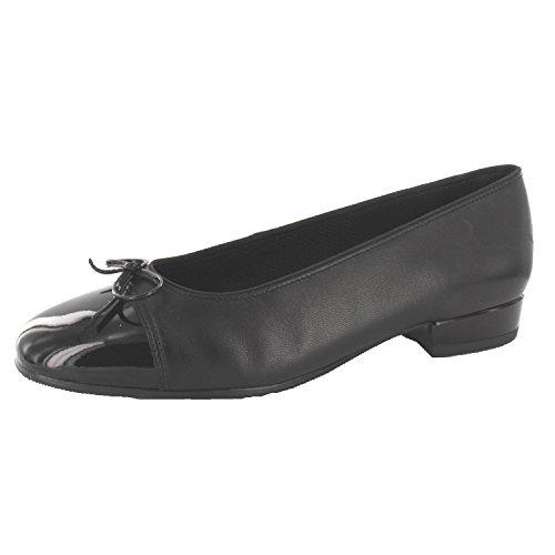 ara Bari 12-43708-01 Damen Ballerinas Schwarz