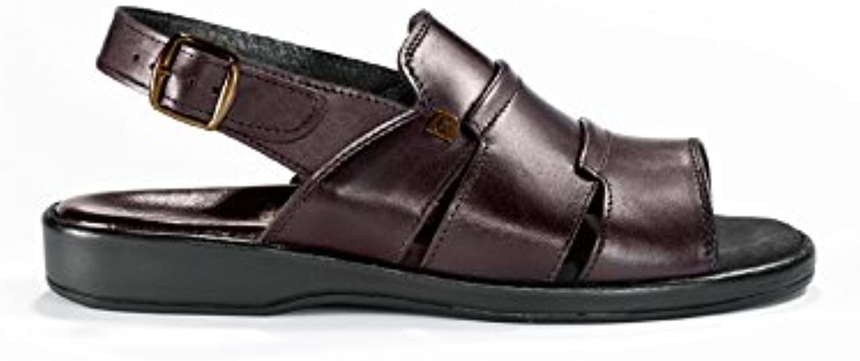 Avena Herren Extraweit Sandale  Fußbett mit Pelotte
