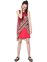 568ae9c6c55 Desigual Dress Sleeveless Monique Woman Red - Robe - Femme