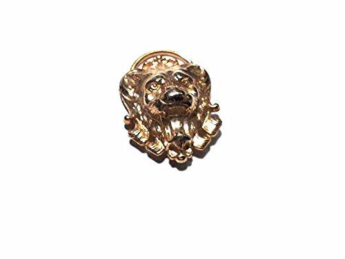artigianale Handwerkliche 1feste Halstuch Naß Gold Löwe Barock hoch 5cm ca. Sockel Foulard...