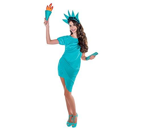 Zzcostumes Freiheitsstatue Kostüm für Eine -