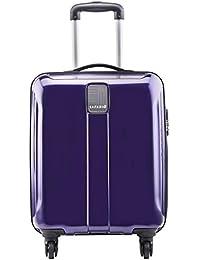 Safari Polycarbonate 55 cms New Purple Hardsided Cabin Luggage (THORSHARPANTI554WNPU)