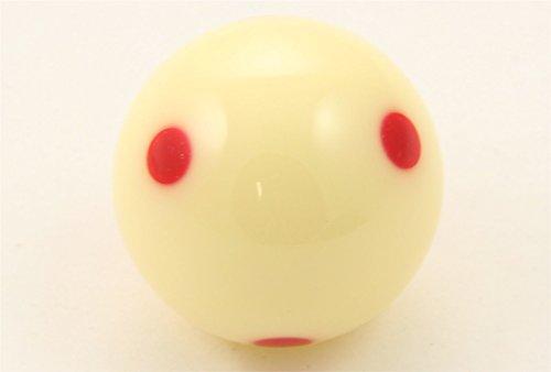 Aramith 2–1/10,2cm Verordnung Größe Billard/Pool Ball: Super Pro Cup Cue Ball mit 6Rot Punkte