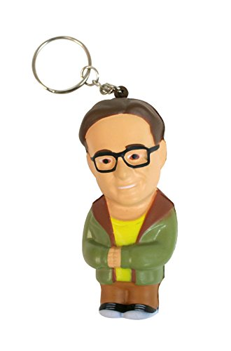 The Big Bang Theory - Leonard, llavero antiestrés mosquetón, 8 cm (SD...